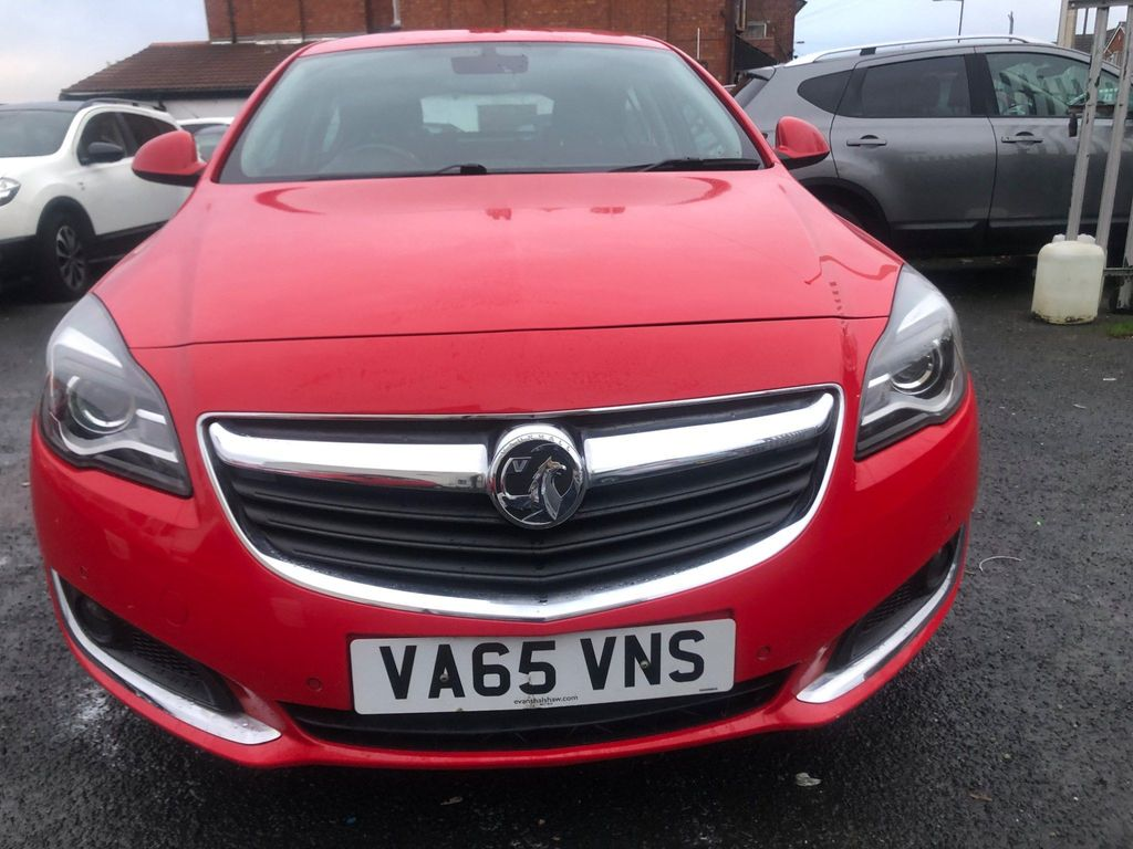 Vauxhall Insignia Hatchback 2.0 CDTi Tech Line Auto 5dr