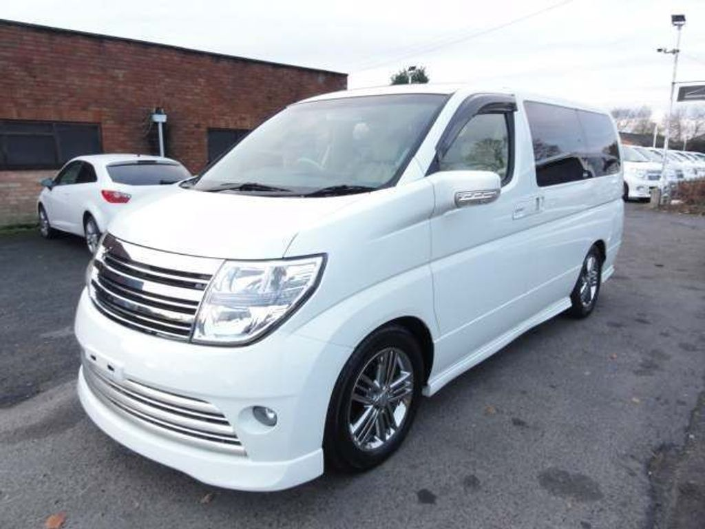 Nissan Elgrand MPV RIDER 2.5 LEATHER SUNROOFS FRESH IMPORT