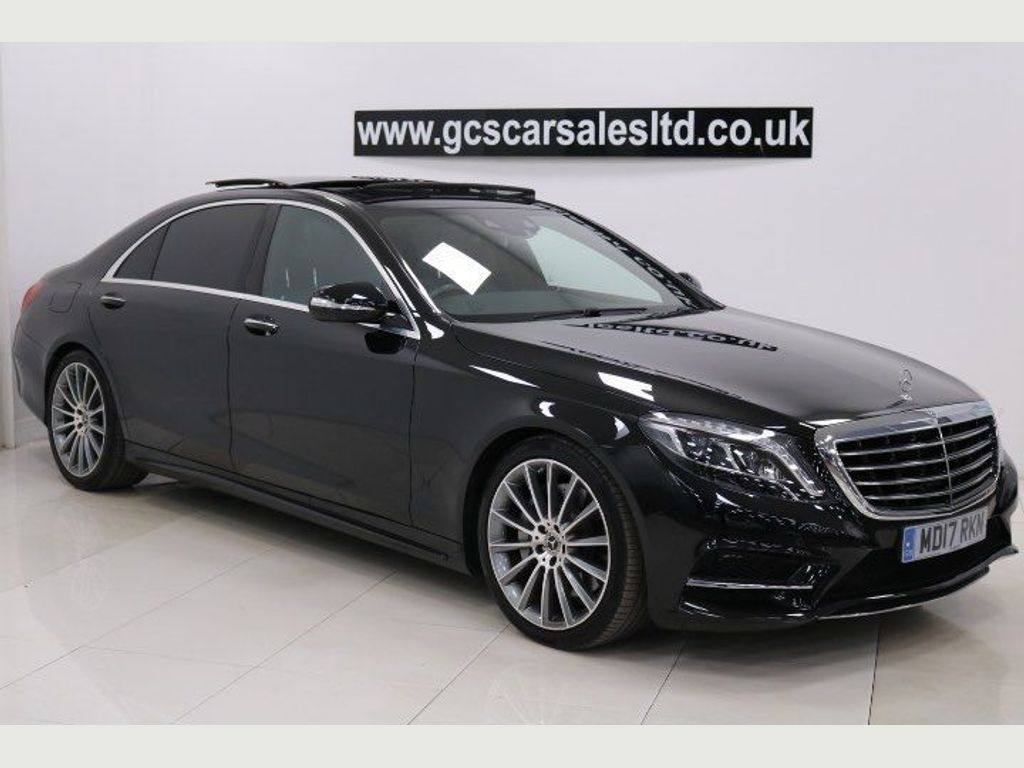 Mercedes-Benz S Class Saloon 3.0 S350d AMG Line L (Executive Premium) 9G-Tronic Plus 4dr