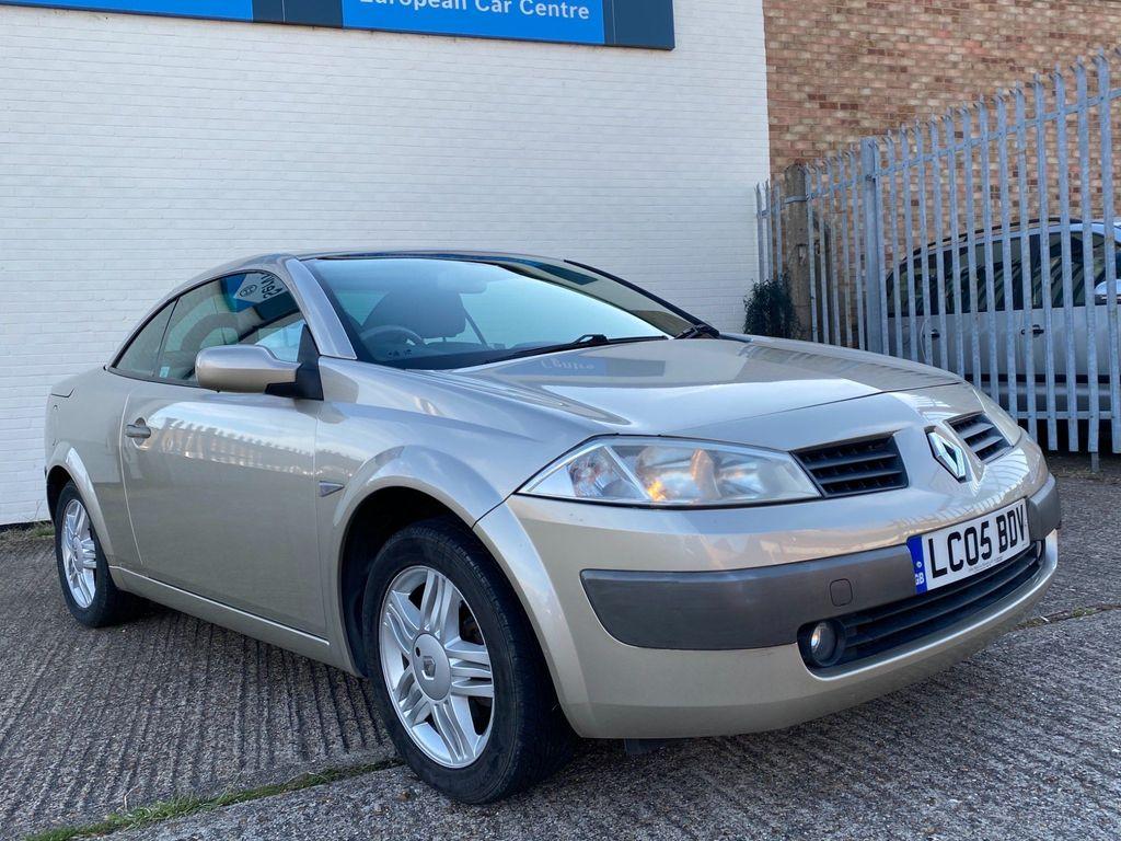 Renault Megane Convertible 1.6 VVT Privilege 2dr