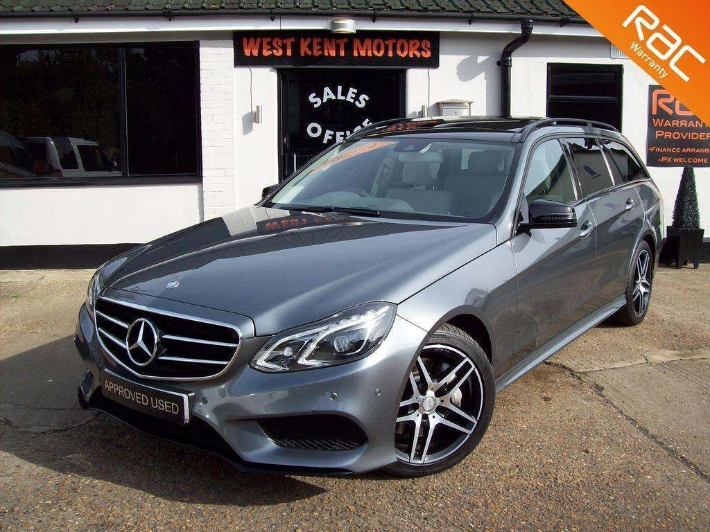 Mercedes-Benz E Class Estate 3.0 E350 CDI BlueTEC AMG Night Edition (Premium Plus) 9G-Tronic Plus 5dr