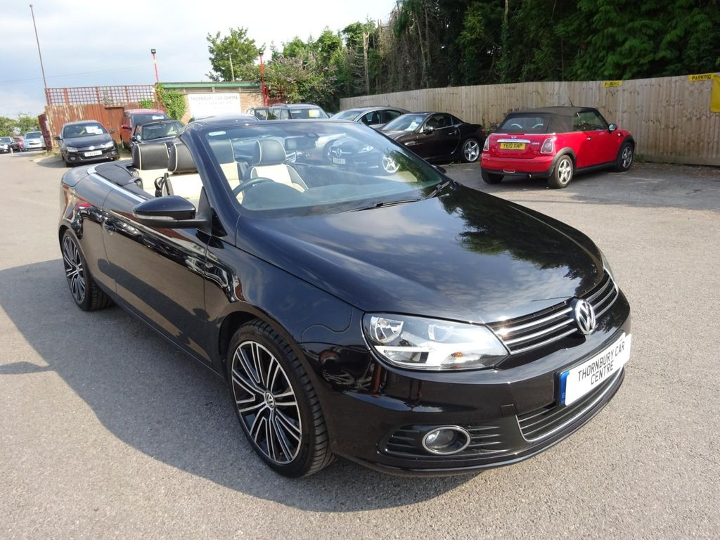 Volkswagen Eos Convertible 2.0 TDI BlueMotion Tech Exclusive Cabriolet DSG 2dr