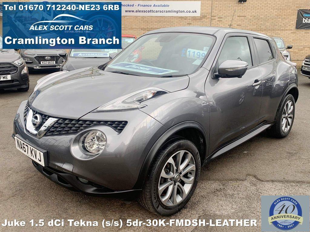 Nissan Juke SUV 1.5 dCi Tekna (s/s) 5dr