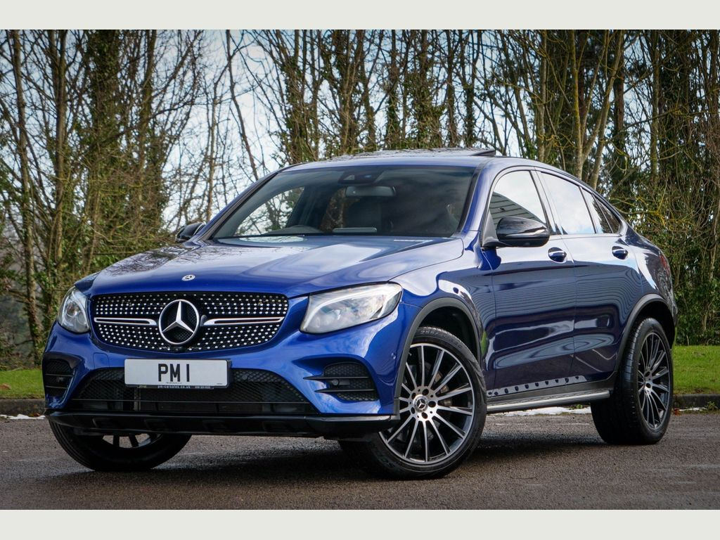 Mercedes-Benz GLC Class Coupe 2.1 GLC250d AMG Line (Premium Plus) G-Tronic+ 4MATIC (s/s) 5dr