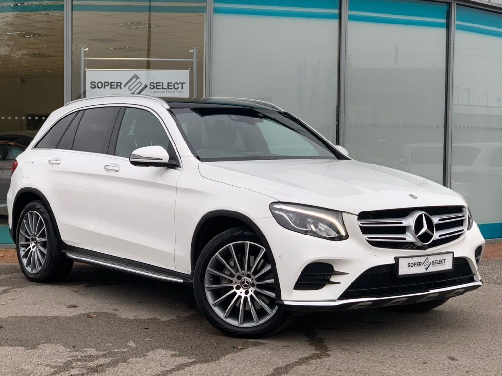 Mercedes-Benz GLC Class SUV 2.1 GLC250d AMG Line (Premium) G-Tronic+ 4MATIC (s/s) 5dr