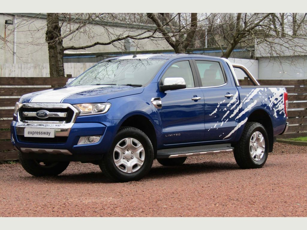 Ford Ranger Pickup 2.2 TDCi Limited 1 Double Cab Pickup Auto 4WD 4dr