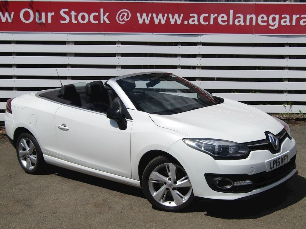 Renault Megane Convertible 1.6 dCi ENERGY Dynamique Tom Tom (s/s) 2dr