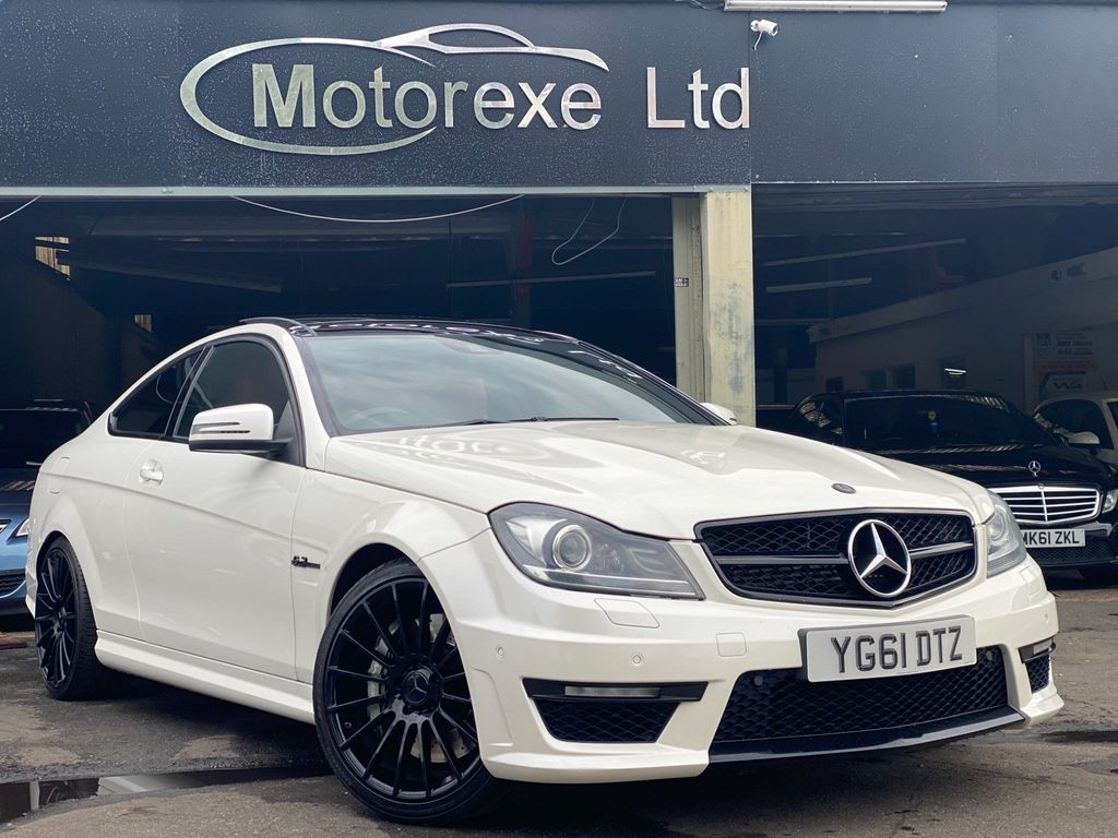 Mercedes-Benz C Class Coupe 6.3 C63 AMG Edition 125 7G-Tronic 2dr
