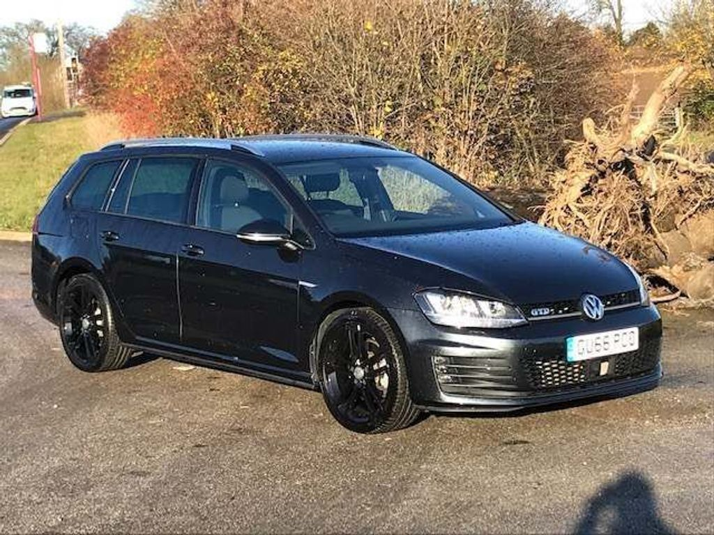 Volkswagen Golf Estate 2.0 TDI BlueMotion Tech GTD DSG (s/s) 5dr