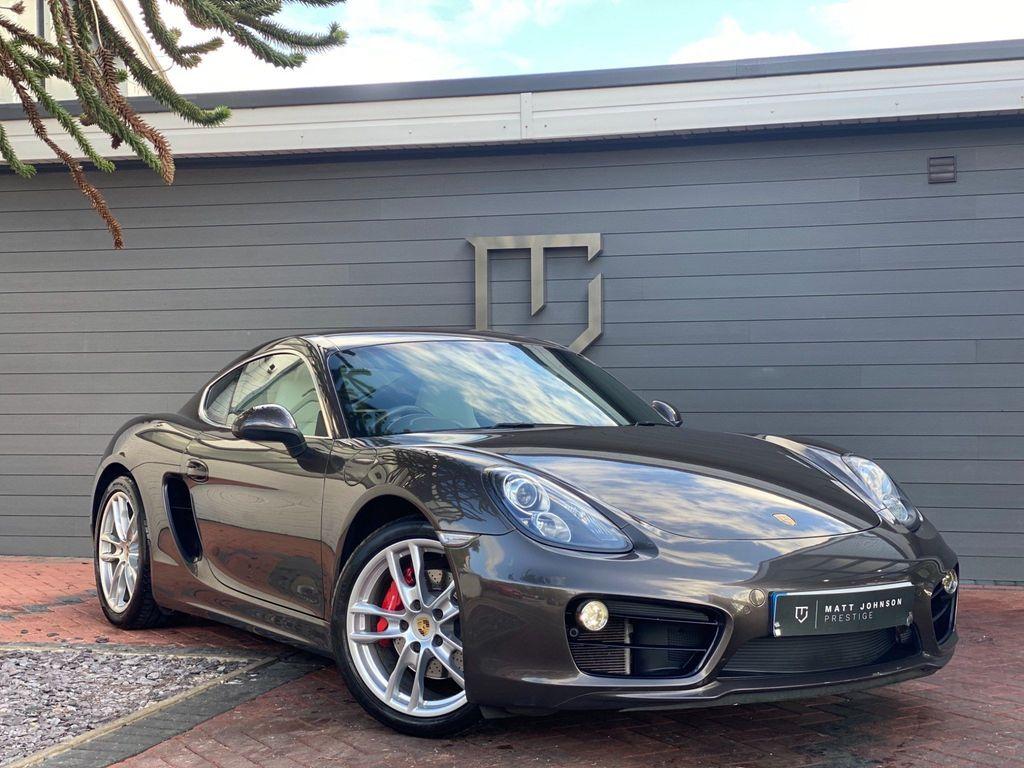 Porsche Cayman Coupe 3.4 981 S PDK 2dr