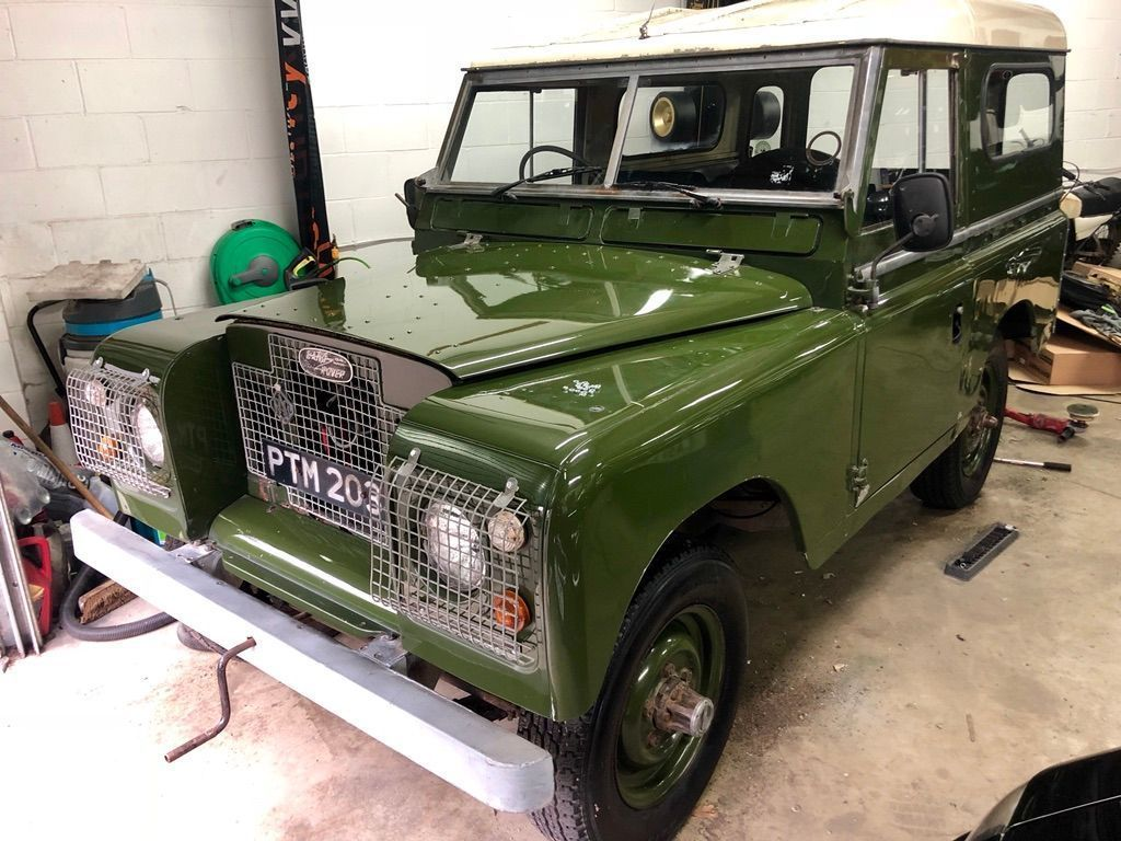 Land Rover Series II Estate