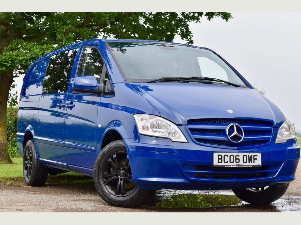 Mercedes-Benz Vito Minibus 2.1 111CDI Dualiner Long 3 5dr (6 Seats)