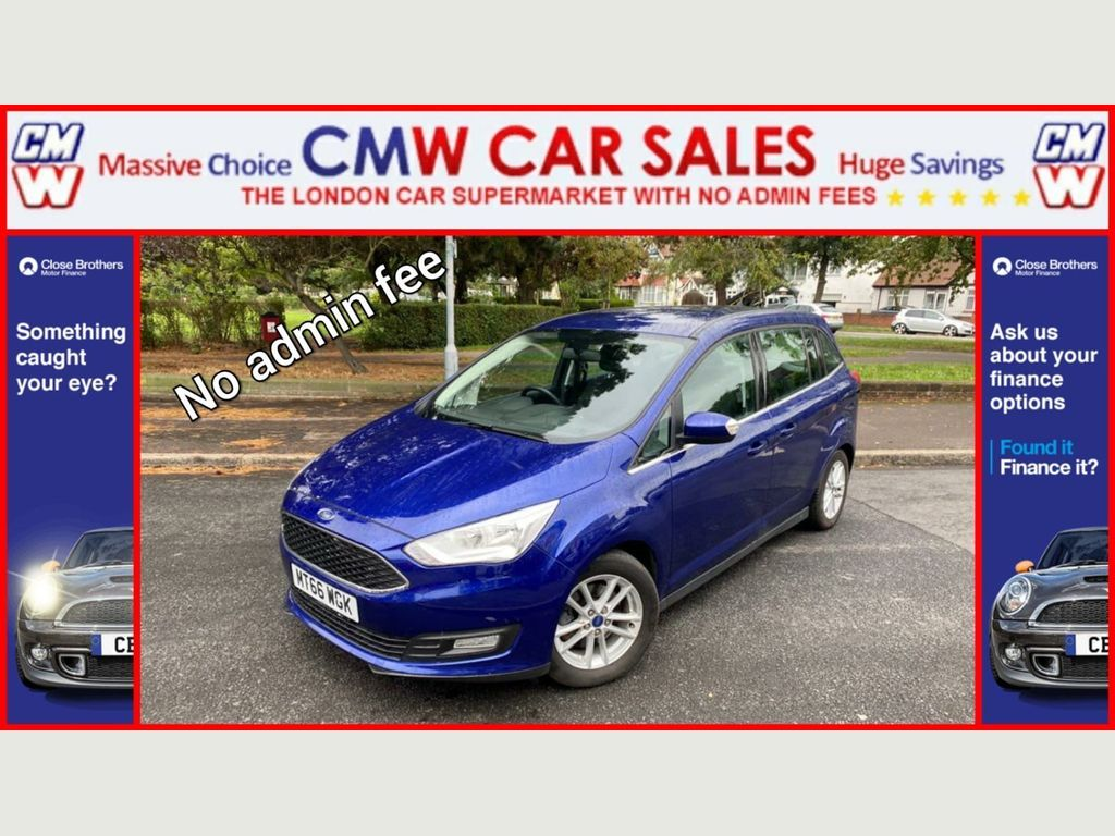 Ford Grand C-Max MPV 1.5 TDCi Zetec Powershift (s/s) 5dr