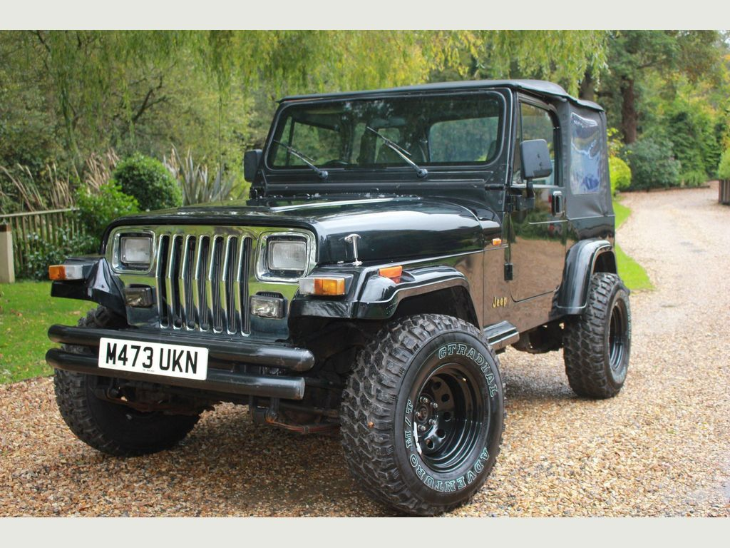 Jeep Wrangler SUV 4.0 Limited Hard Top 4x4 3dr
