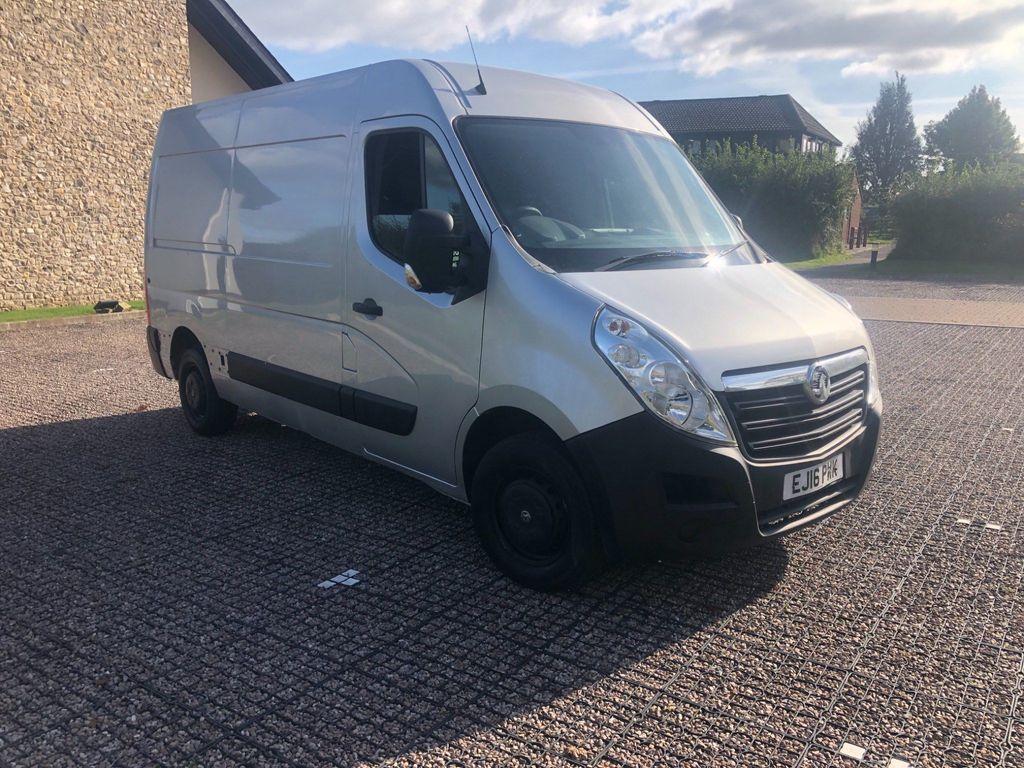 Vauxhall Movano Panel Van 2.3 CDTi 3500 ecoFLEX FWD L2 H2 EU5 (s/s) 5dr