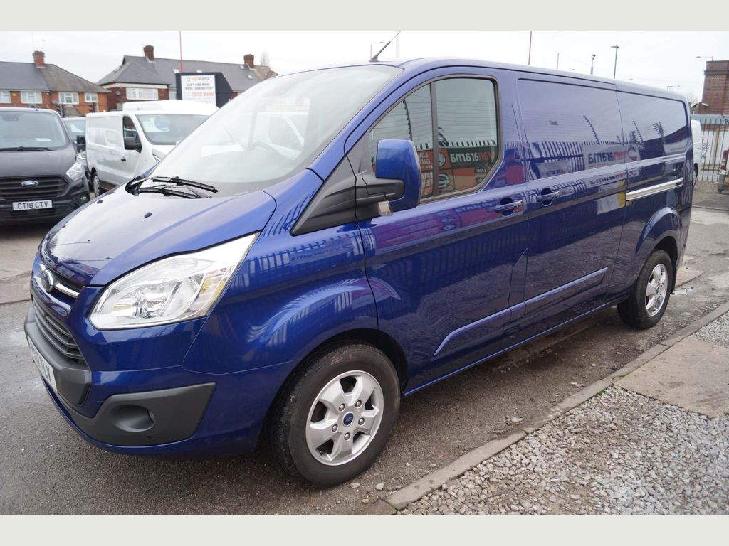 Ford Transit Custom Panel Van 2.0TDCi LIMITED 290 L2 LWB VAN EURO6