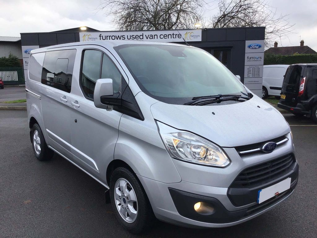 Ford Transit Custom Panel Van 310 L1 LIMITED D/CAB IN VAN 2.0 130 PS