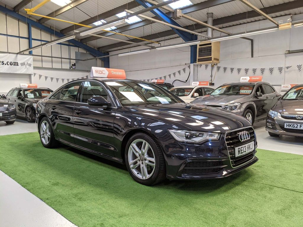 Audi A6 Saloon Saloon 2.0 TDI S line Multitronic 4dr