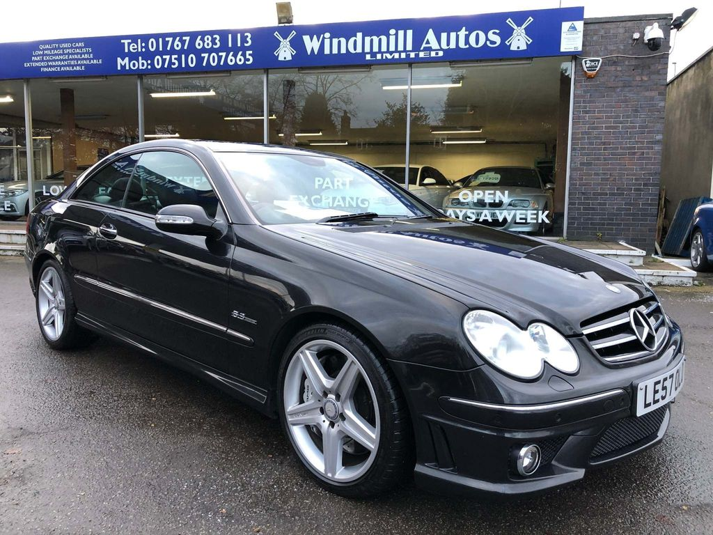 Mercedes-Benz CLK Coupe 6.2 CLK63 AMG 7G-Tronic 2dr
