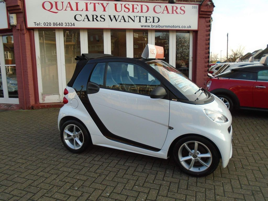 Smart fortwo Convertible 1.0 MHD Pulse Cabriolet Softouch 2dr