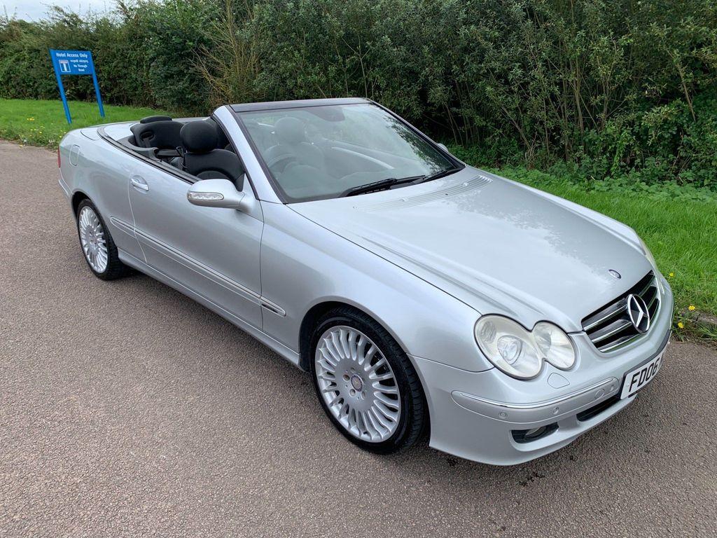 Mercedes-Benz CLK Convertible 1.8 CLK200 Kompressor Avantgarde Cabriolet 2dr