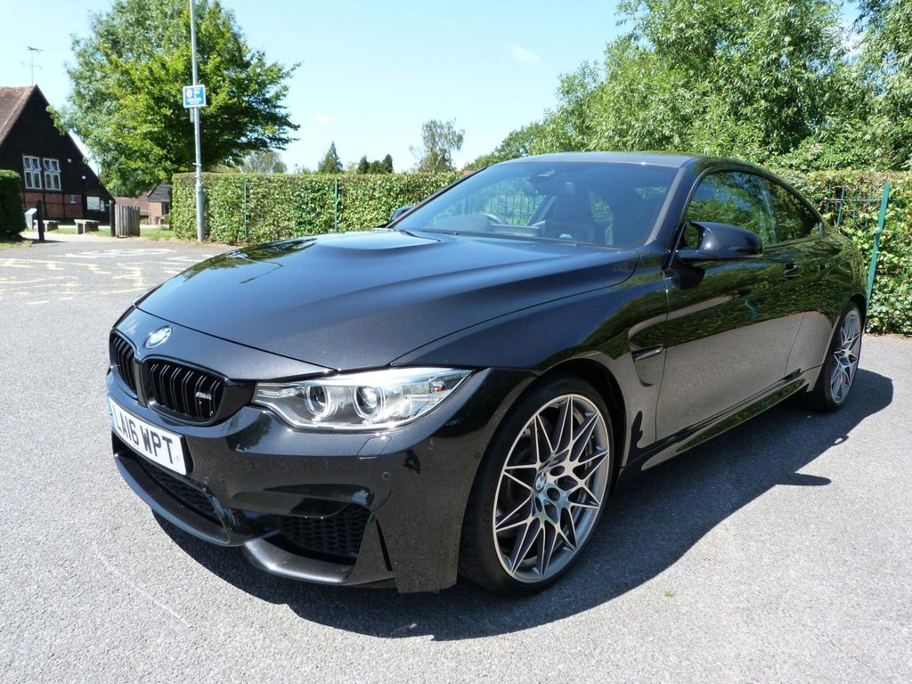 BMW M4 Coupe 3.0 BiTurbo (Competition Pack) DCT (s/s) 2dr