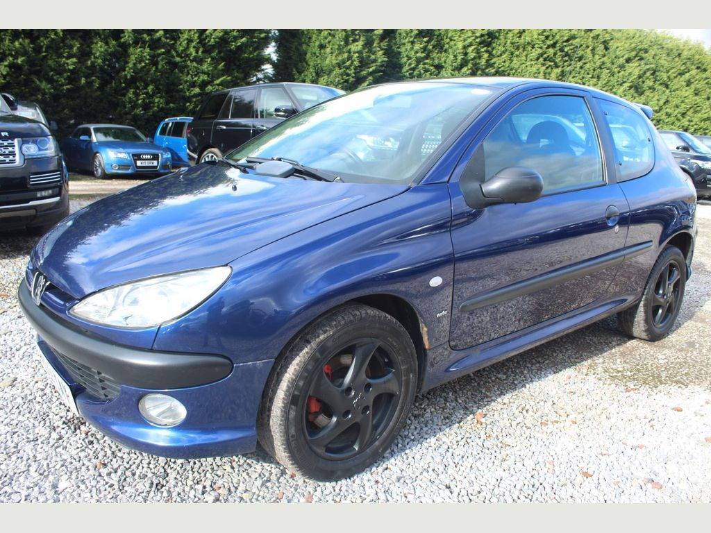Peugeot 206 Hatchback 2.0 HDi D-Turbo 3dr (electric sunroof)