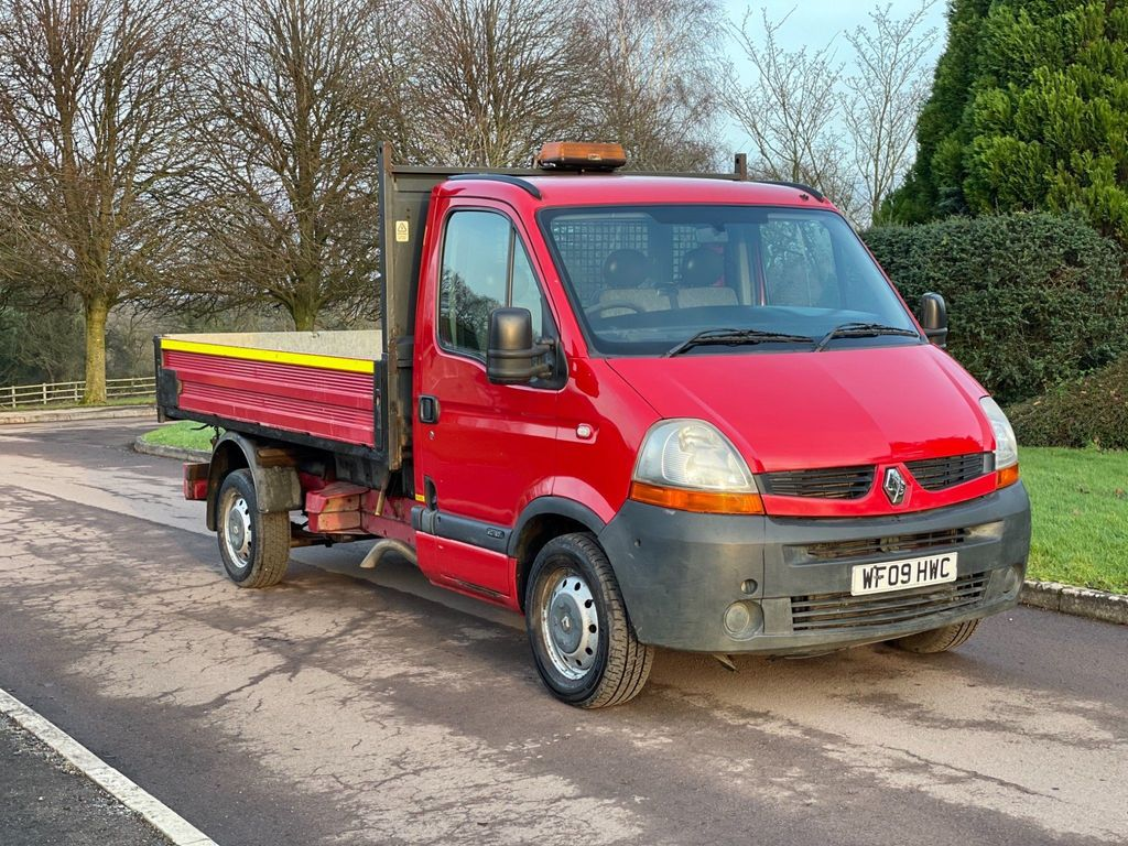 Renault Master Tipper 2.5 dCi CCML35 Tipper 2dr (MWB)