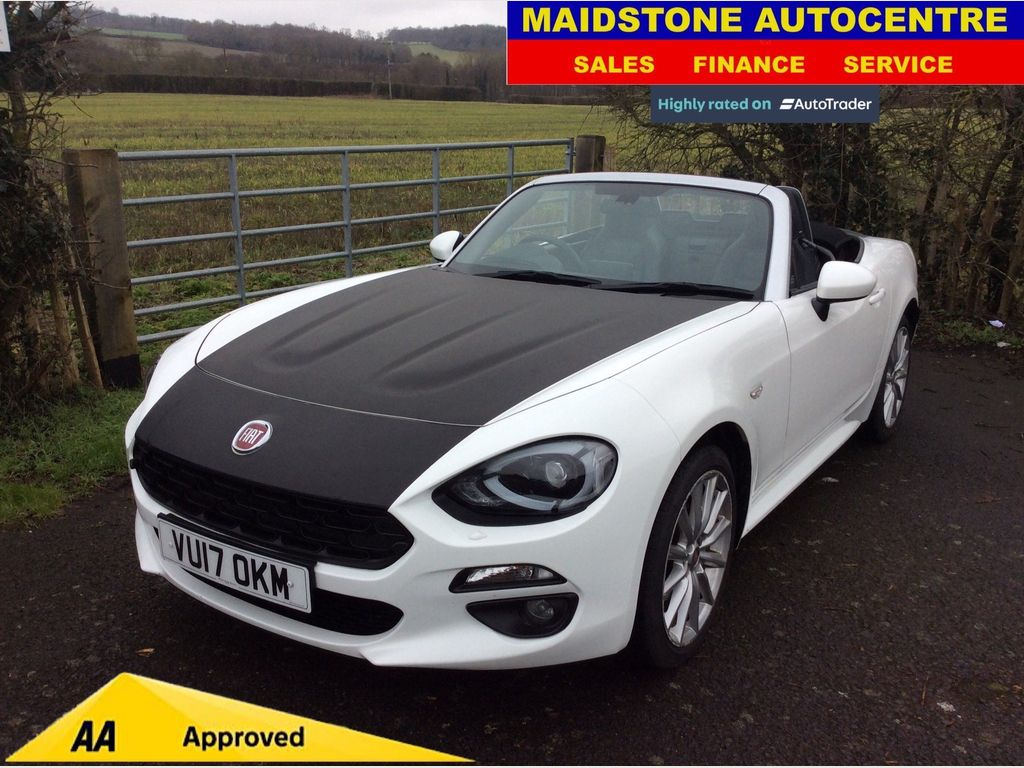 Fiat 124 Spider Convertible 1.4 MultiAir Lusso Plus 2dr