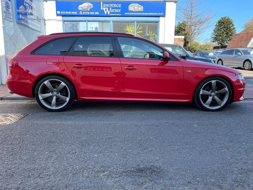 Audi A4 Avant Estate 3.0 TDI Black Edition Avant S Tronic quattro 5dr