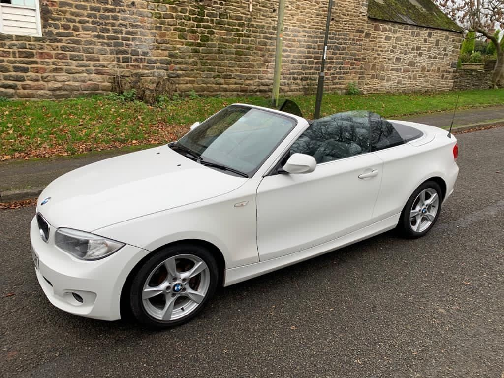 BMW 1 Series Convertible 2.0 118d Exclusive Edition Auto 2dr