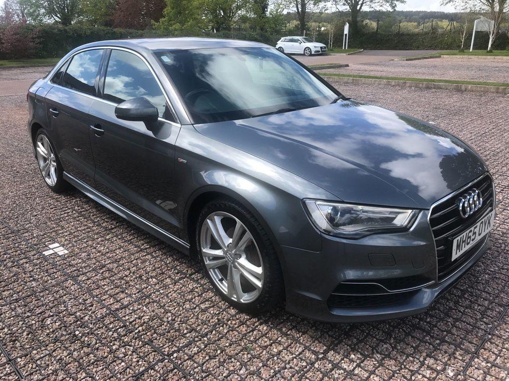 Audi A3 Saloon 2.0 TDI S line (s/s) 4dr (Nav)