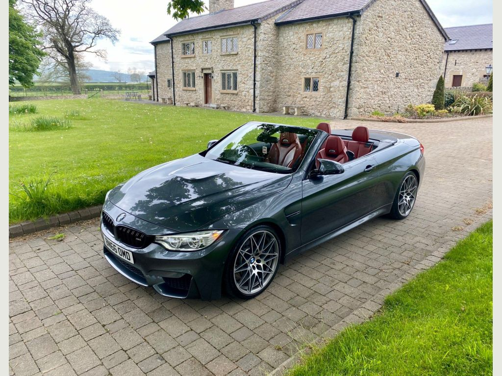 BMW M4 Convertible 3.0 BiTurbo Competition M DCT (s/s) 2dr