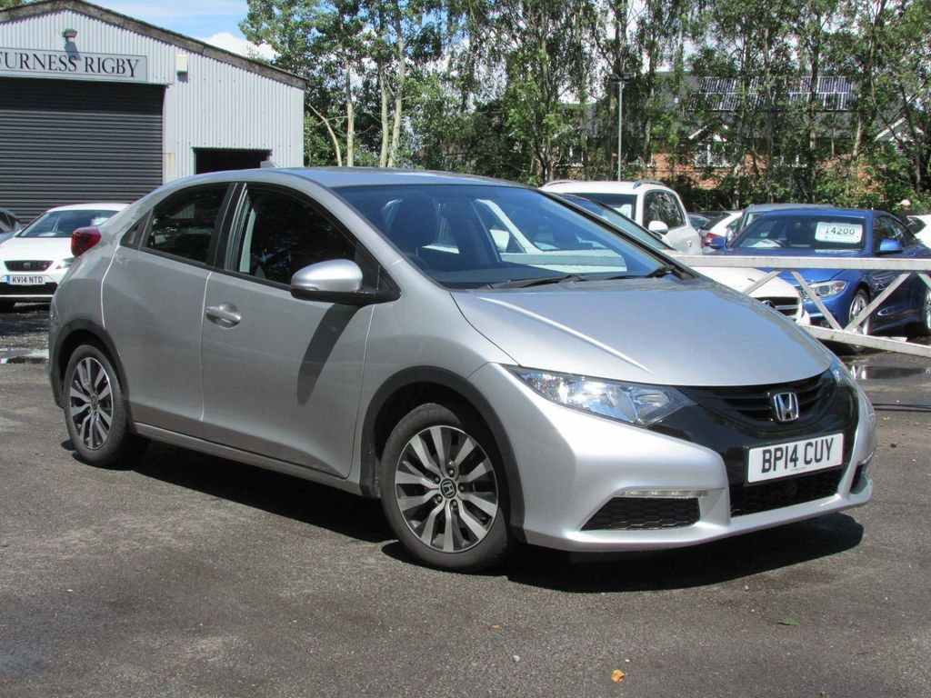 Honda Civic Hatchback 1.6 i-DTEC S 5dr (DAB/Premium Audio/Bluetooth)