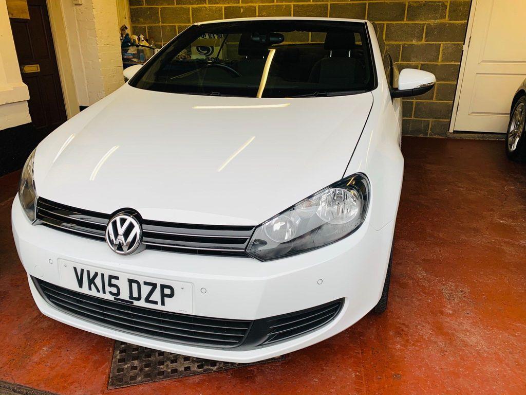 Volkswagen Golf Convertible 1.6 TDI BlueMotion Tech SE BlueMotion Cabriolet 2dr