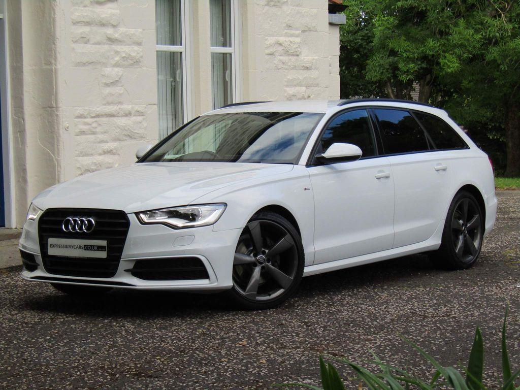 Audi A6 Avant Estate 2.0 TDI ultra Black Edition Avant 5dr