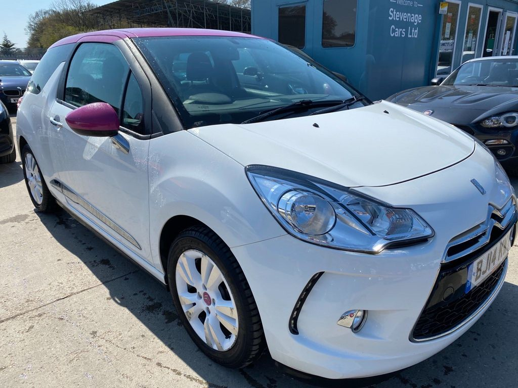 Citroen DS3 Hatchback 1.6 e-HDi Airdream DStyle Pink 3dr