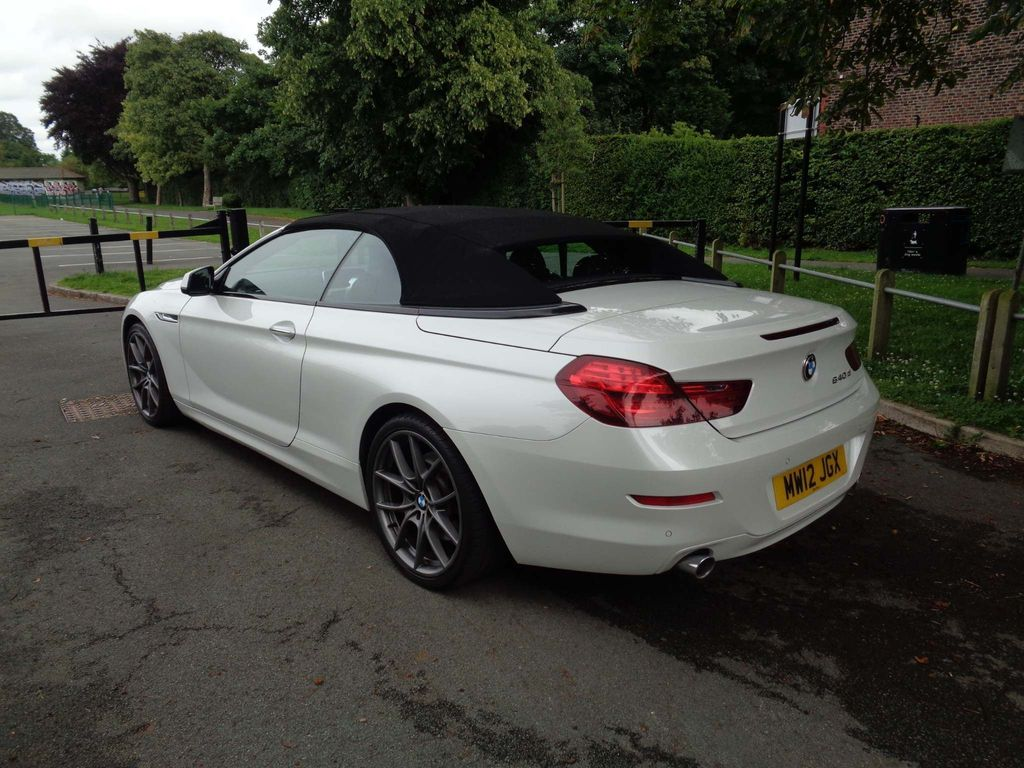 BMW 6 Series Convertible 3.0 640d SE 2dr