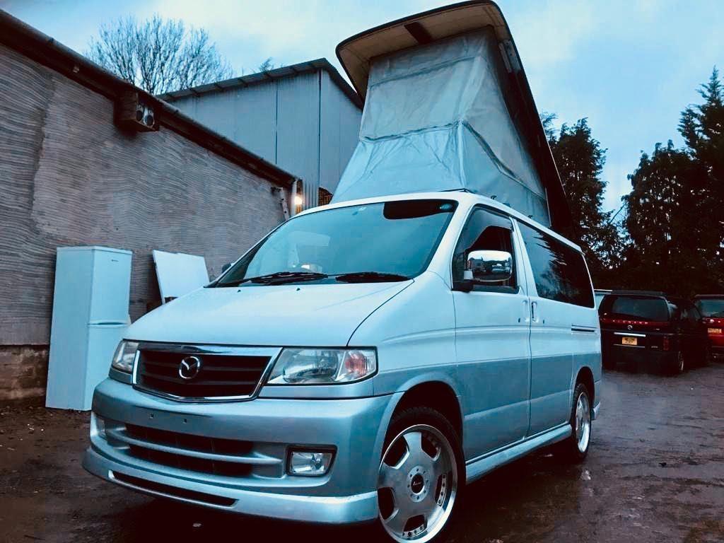 Mazda BONGO AFT 4 BERTH FULL NEW SIDE CAMPER CONVERSION Campervan FRESH IMPORT RUST FREE 2.5 V6