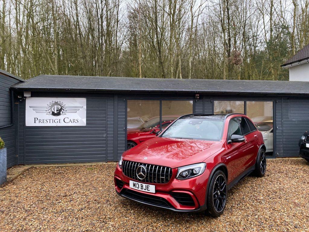Mercedes-Benz GLC Class SUV 4.0 GLC63 V8 BiTurbo AMG (Premium) SpdS MCT 4MATIC+ (s/s) 5dr