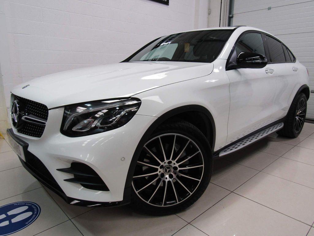 Mercedes-Benz GLC Class Coupe 2.1 GLC250d AMG Line (Premium) G-Tronic 4MATIC (s/s) 5dr