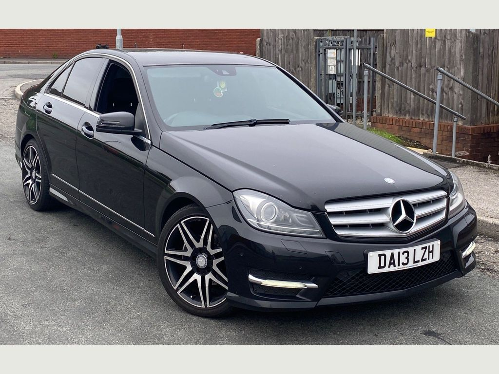 Mercedes-Benz C Class Saloon 2.1 C200 CDI BlueEFFICIENCY AMG Sport Plus 7G-Tronic Plus 4dr (Map Pilot)