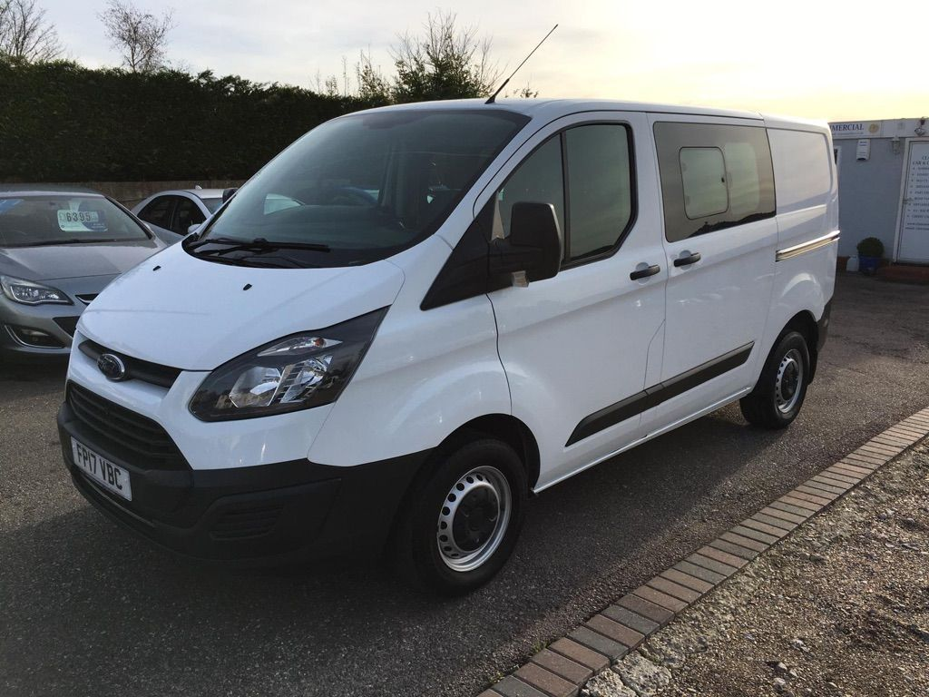 Ford Transit Custom Other 2.0 TDCi 290 L1H1 Double Cab-in-Van 6dr (EU6)