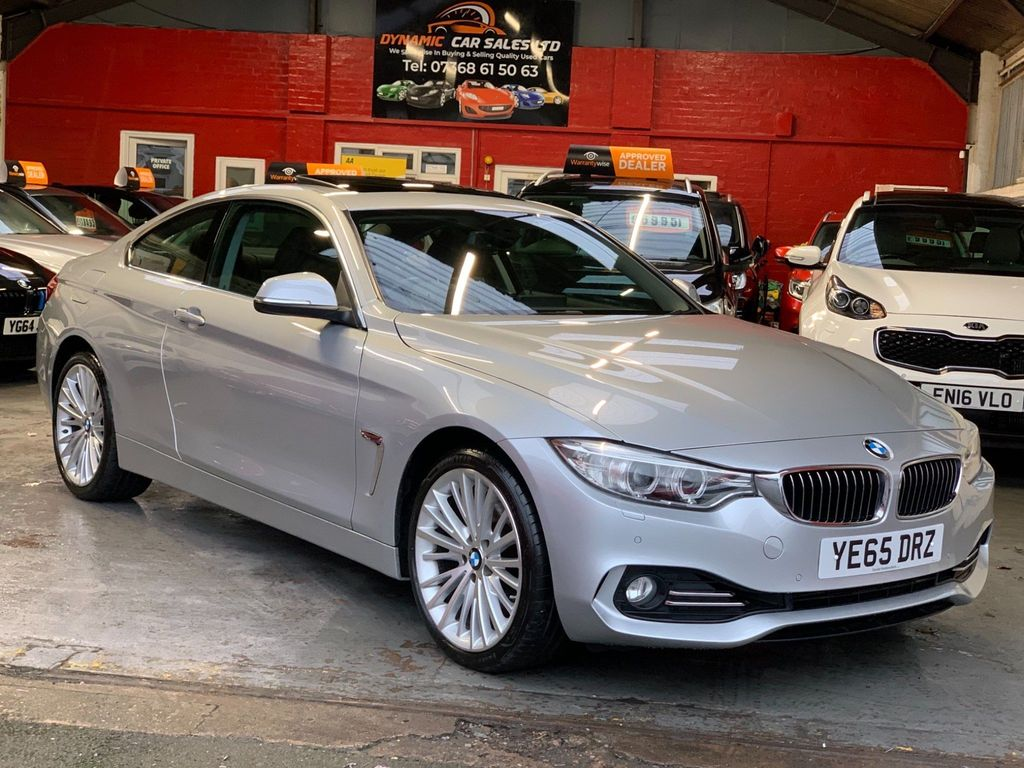 BMW 4 Series Coupe 3.0 430d Luxury Auto xDrive 2dr