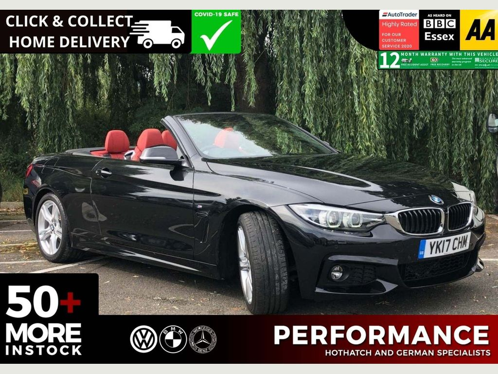 BMW 4 Series Convertible 2.0 430i M Sport (s/s) 2dr