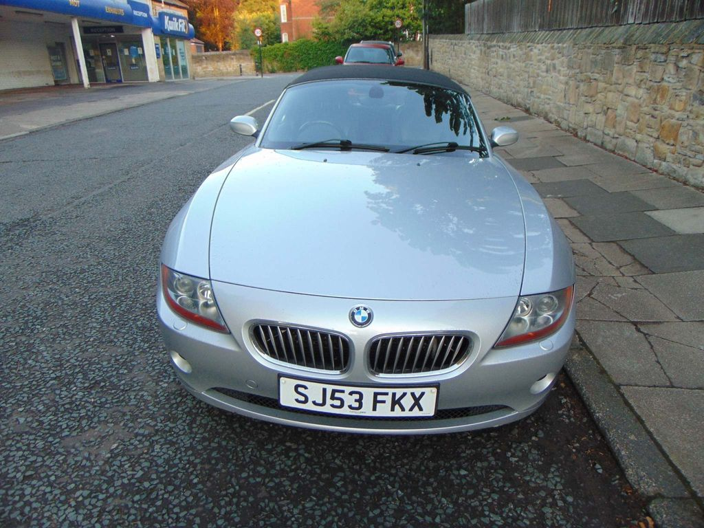 Used Bmw Z4 Convertible 3 0 I Roadster 2dr In Newcastle Upon Tyne Tyne And Wear Dukes Moor Garage