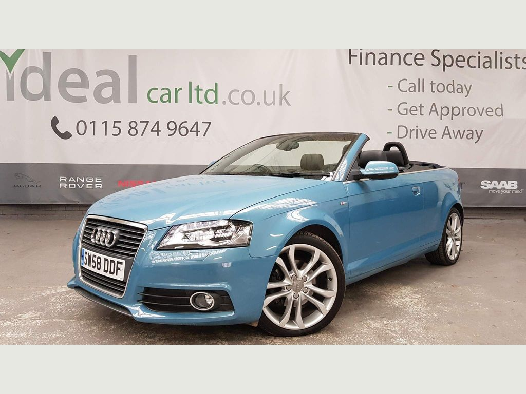 Audi A3 Cabriolet Convertible 1.8 TFSI S line S Tronic 2dr