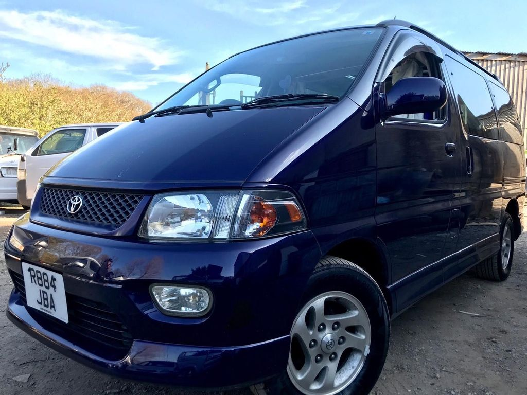 Toyota HIACE REGIUS 2 BERTH CAMPERVAN Campervan 66K FULL SIDE CAMPER CONVERSION