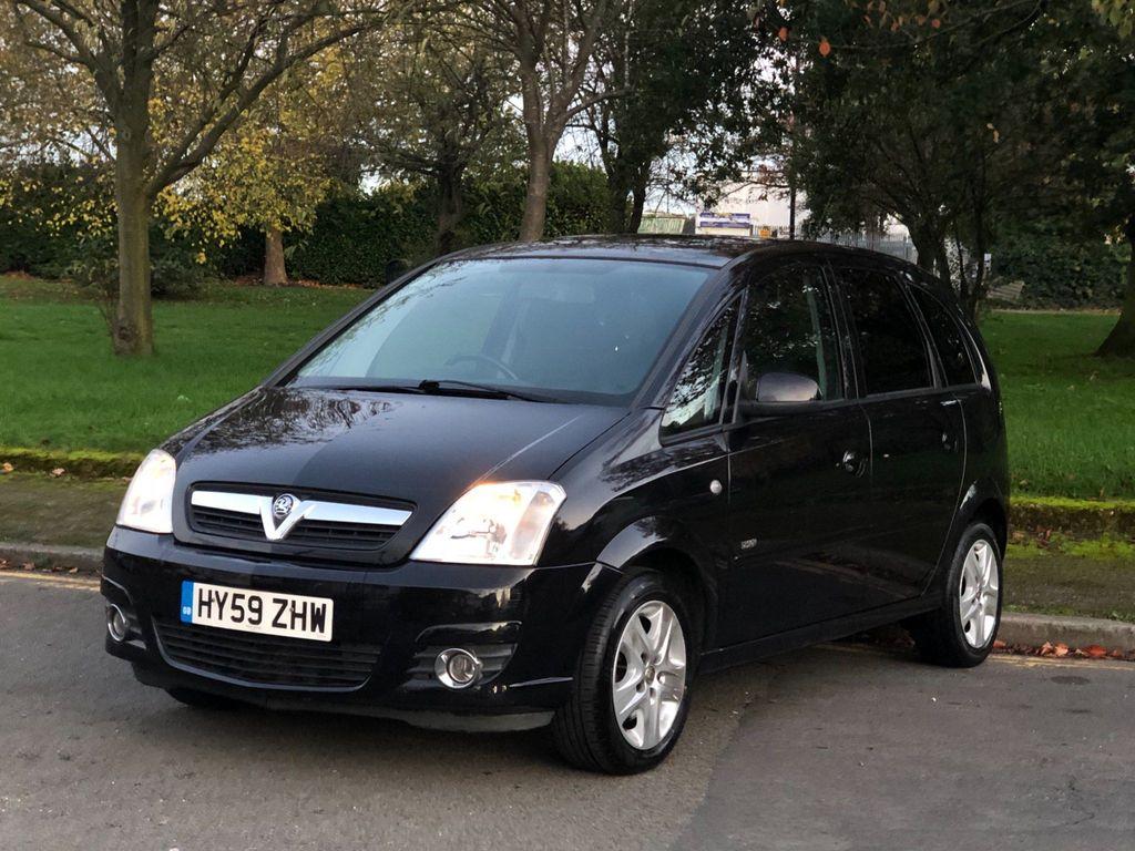 Vauxhall Meriva MPV 1.8 i 16v Design 5dr (a/c)