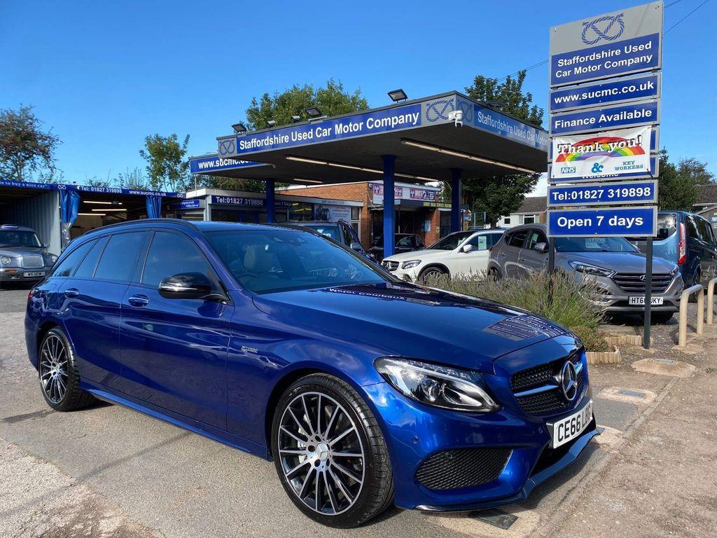 Mercedes-Benz C Class Estate 3.0 C43 V6 AMG (Premium) G-Tronic+ 4MATIC (s/s) 5dr